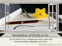 Revelation of Christ in Us